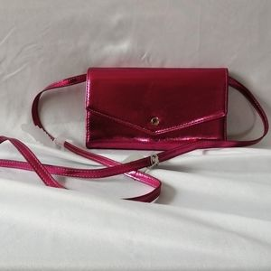 NWT A New Day Pink Crossbody Wallet